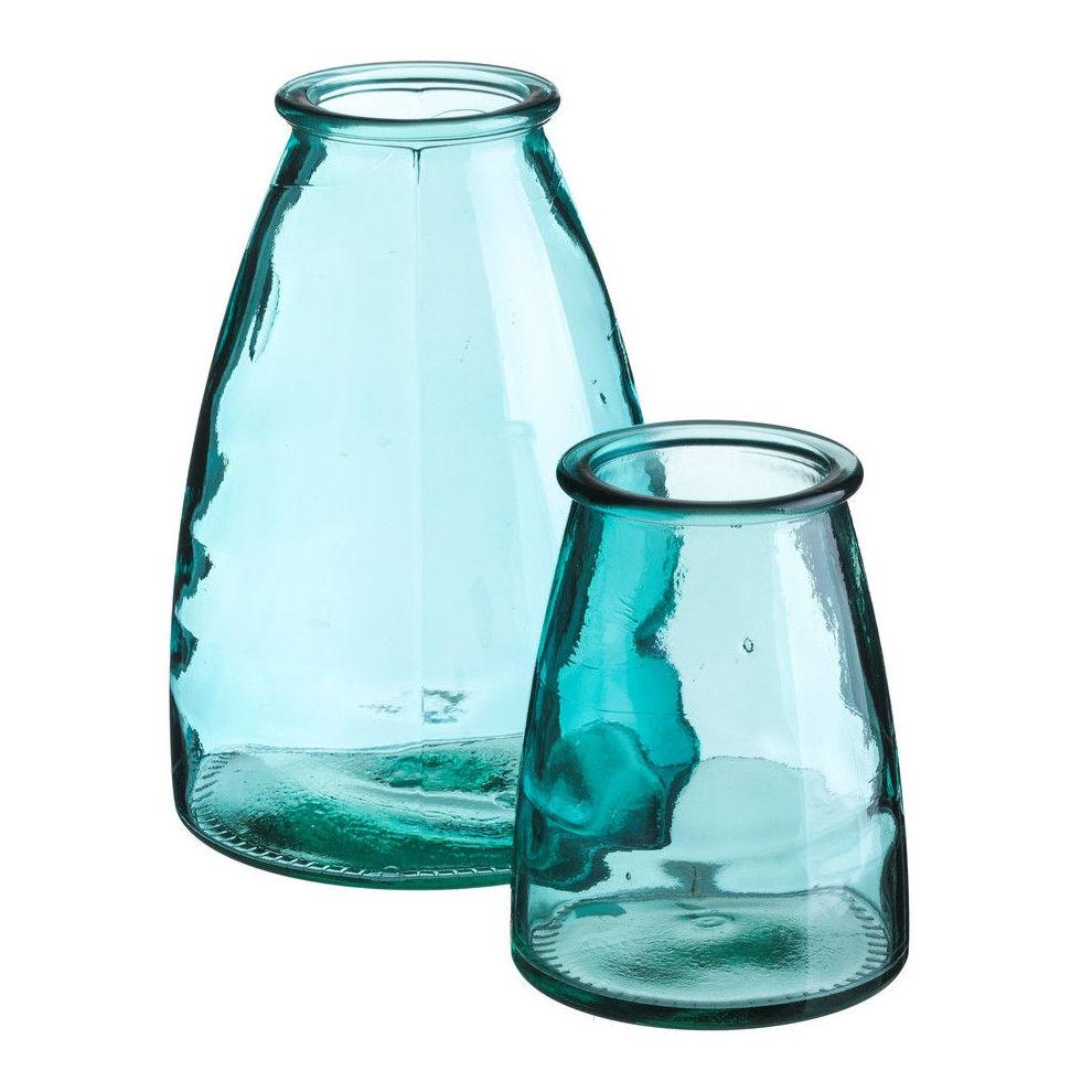 Jarrones de vidrio reciclado: Tienda online  de COSCO. Tel 928988528