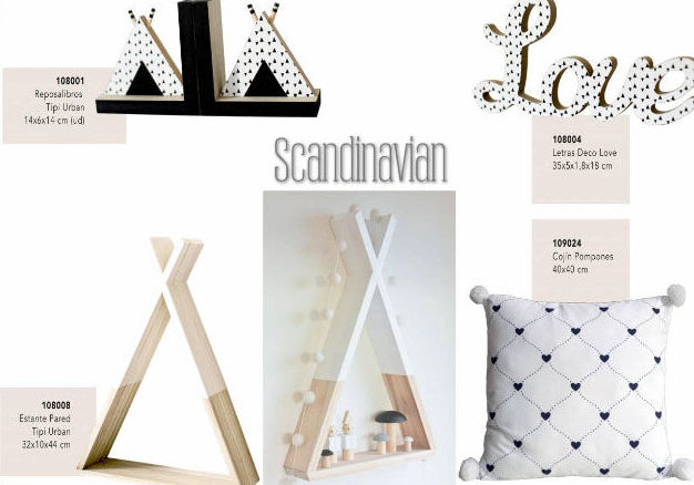 Decoración Scandinavian