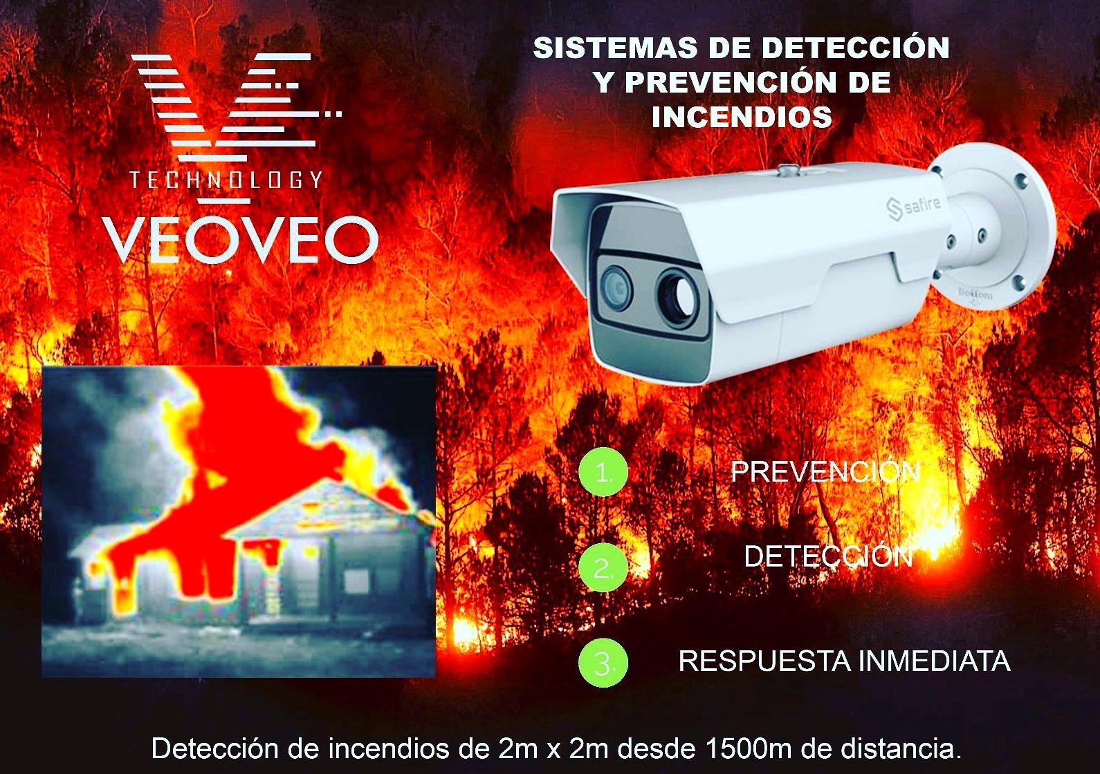 Cámara de Detección de Incendios