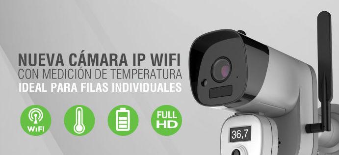 Nuevo Camara IP medición de temperatura