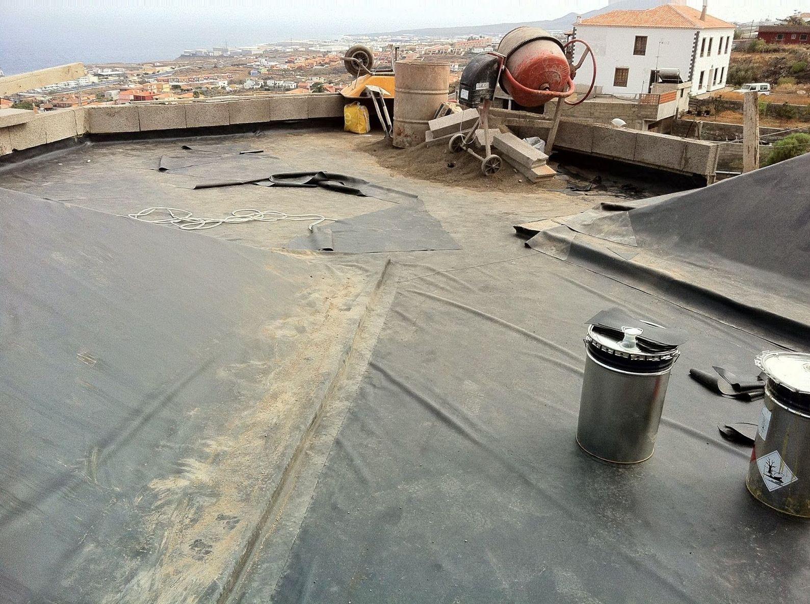 Restauración y mantenimiento de cubiertas