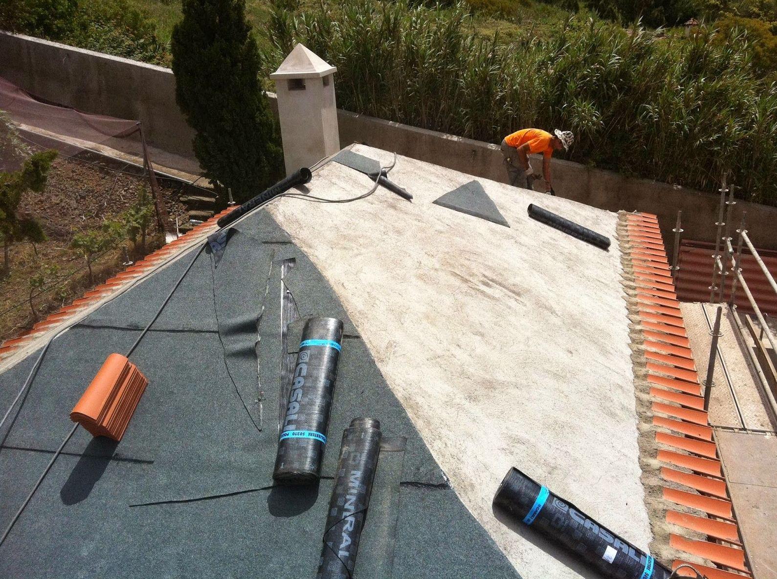 Impermeablización de tejados