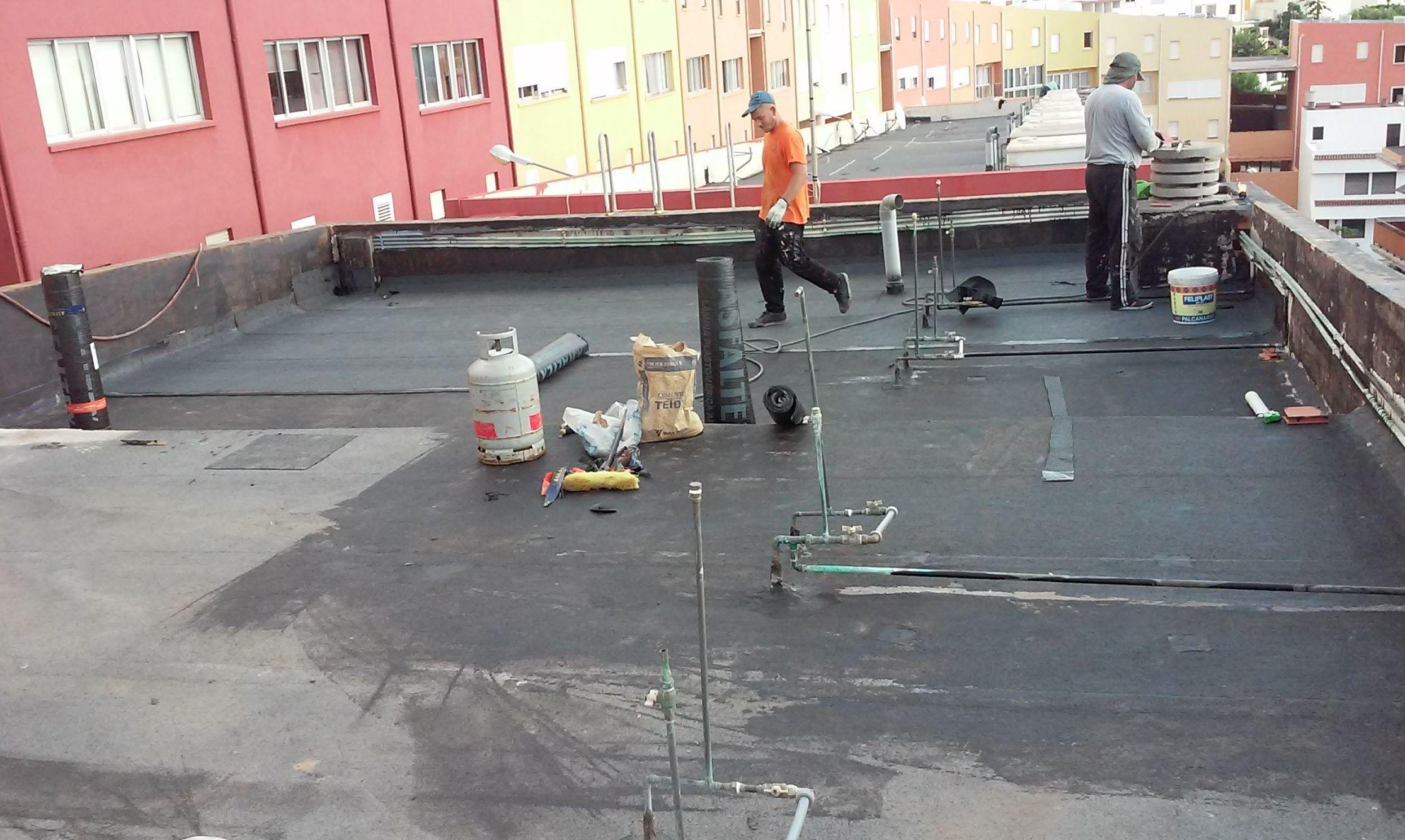 Foto 93 de Impermeabilizaciones en Santa Cruz de Tenerife | Impermeabilizaciones Ingarpe S.L.