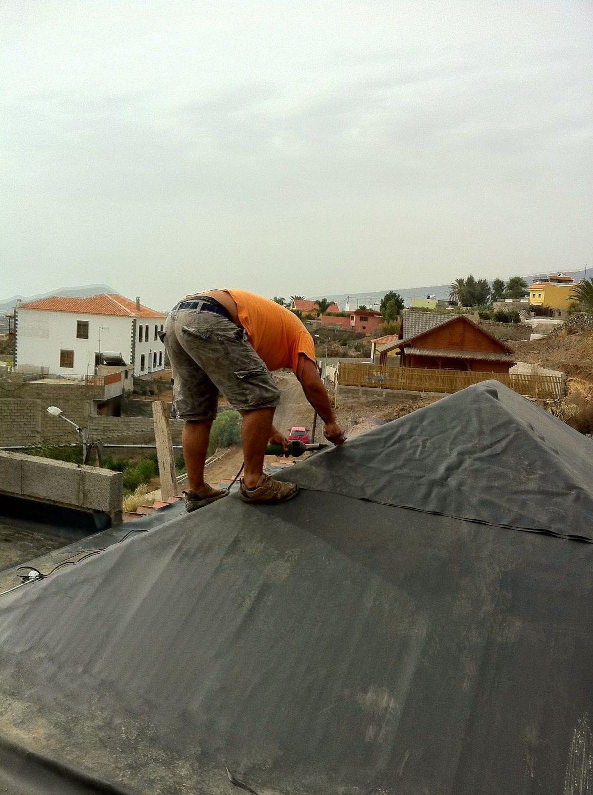 Impermeabilización de cubiertas inclinadas