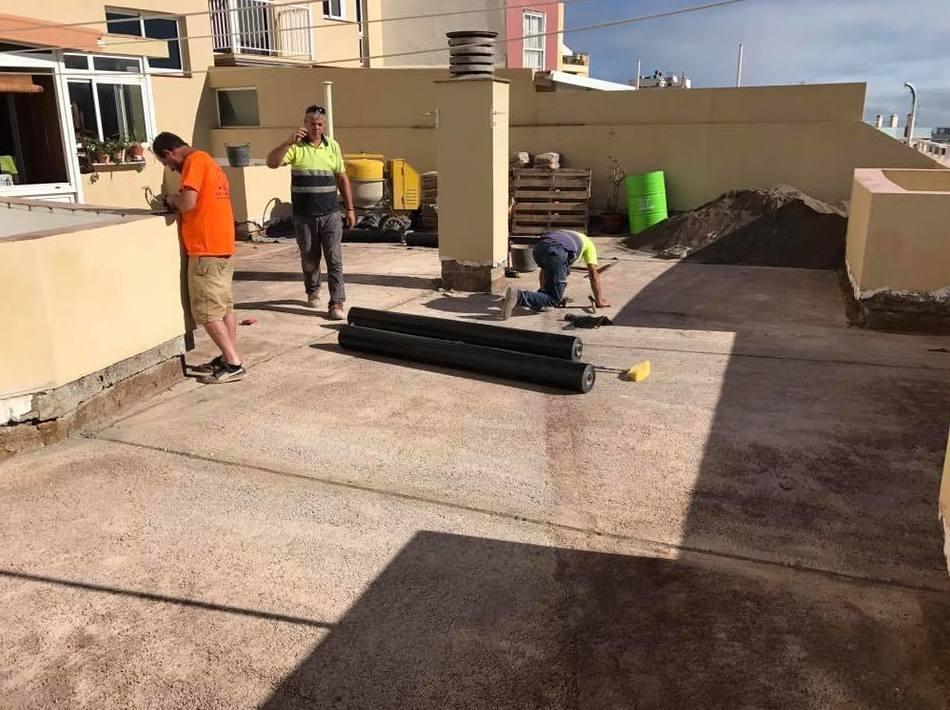 Foto 2 de Impermeabilizaciones en Santa Cruz de Tenerife | Impermeabilizaciones Ingarpe S.L.