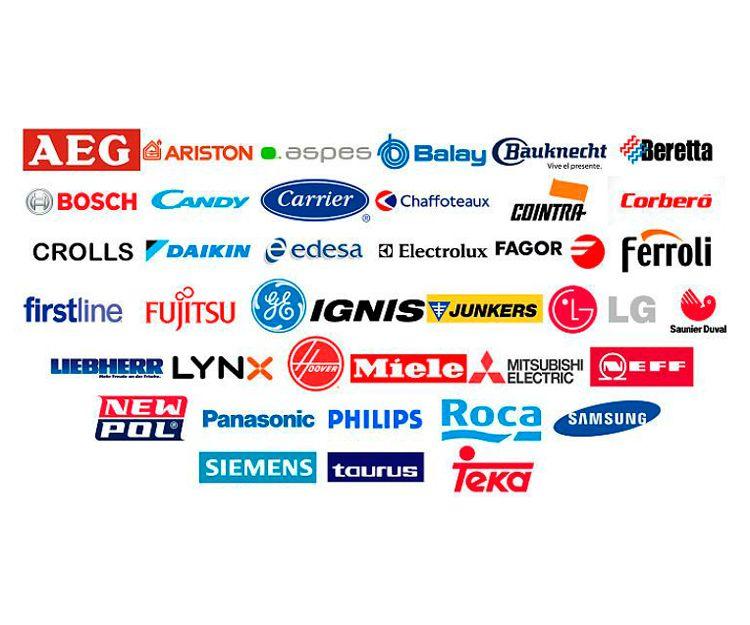 Servicio técnico de las principales marcas de electrodomésticos en Madrid