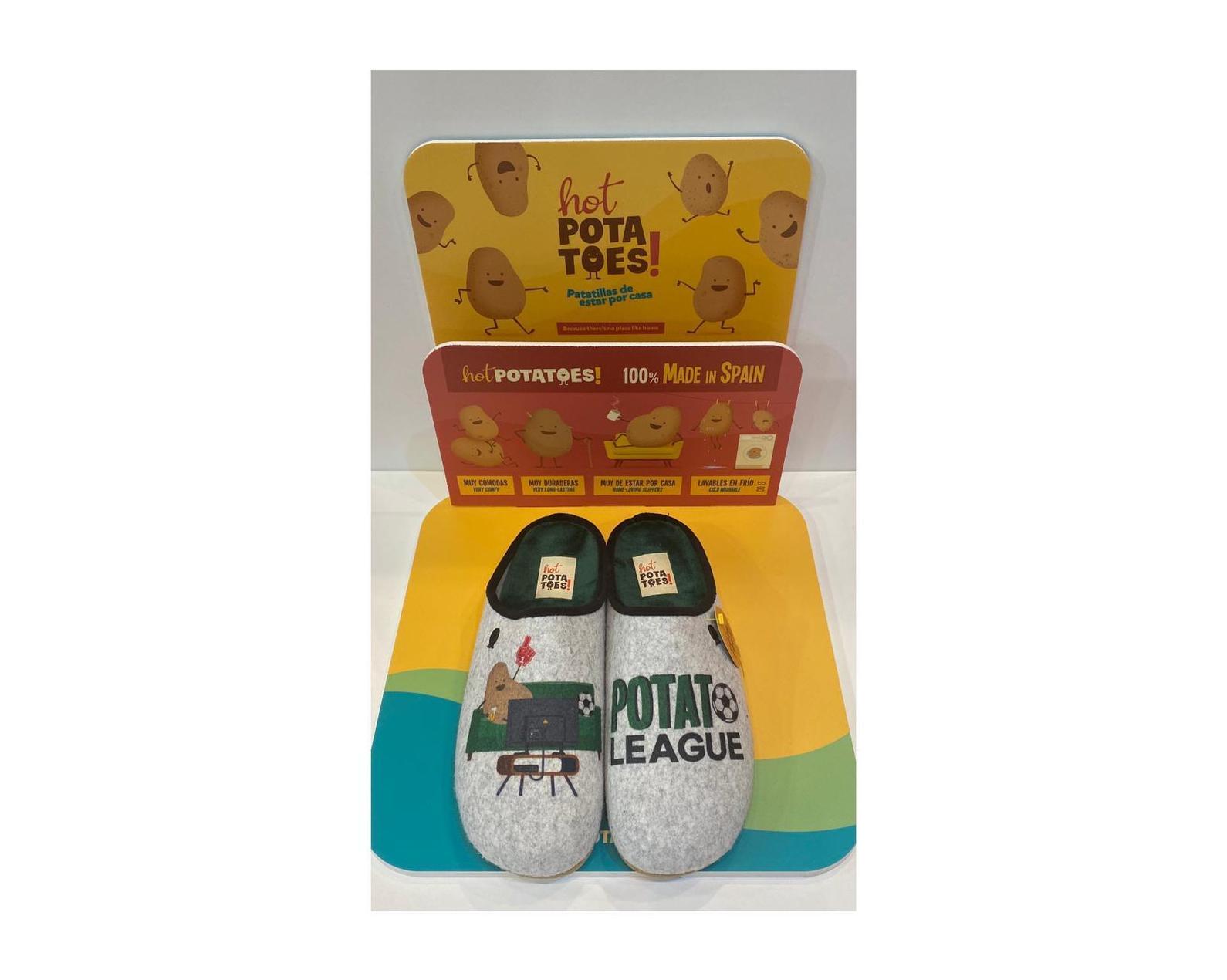 Espardenyas d'home, de la marca Hot Potatoes, amb plantilla extraible de làtex 29.95€