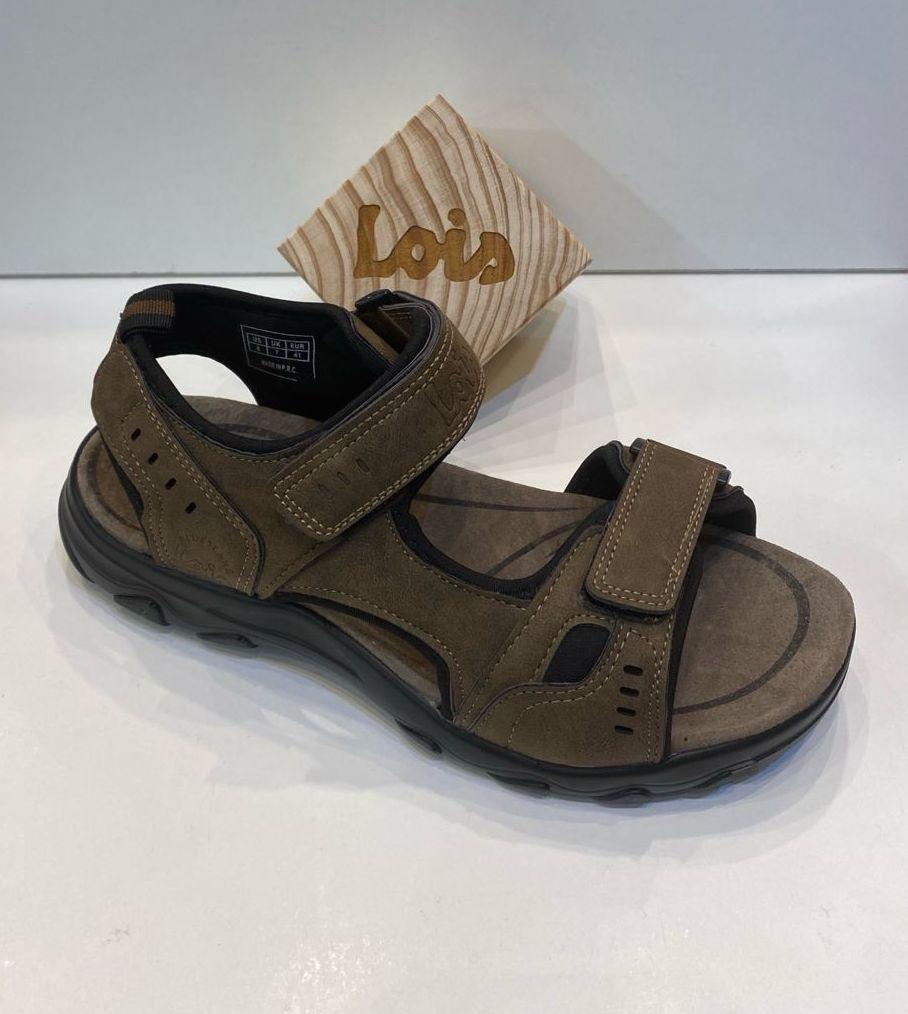 Sandàlia d'home, de la marca Lois, adaptable a totes les amplades, sola de politilè 39.90€ www.calzadosllinas.es