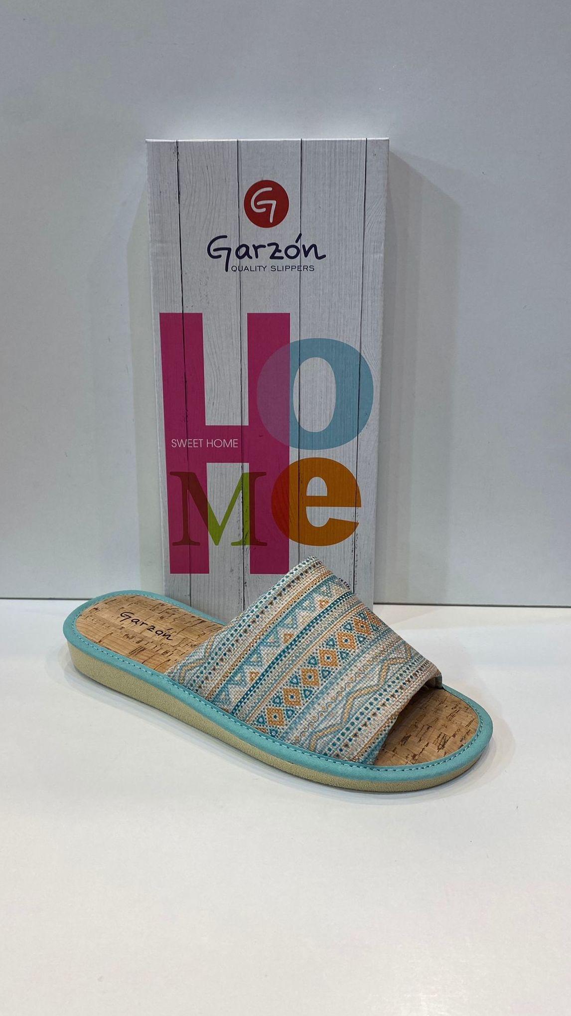 Espardenya de dona, de la marca Garzón, de fibra de bambú antialèrgica, sola de microporós especial parquet 24€
