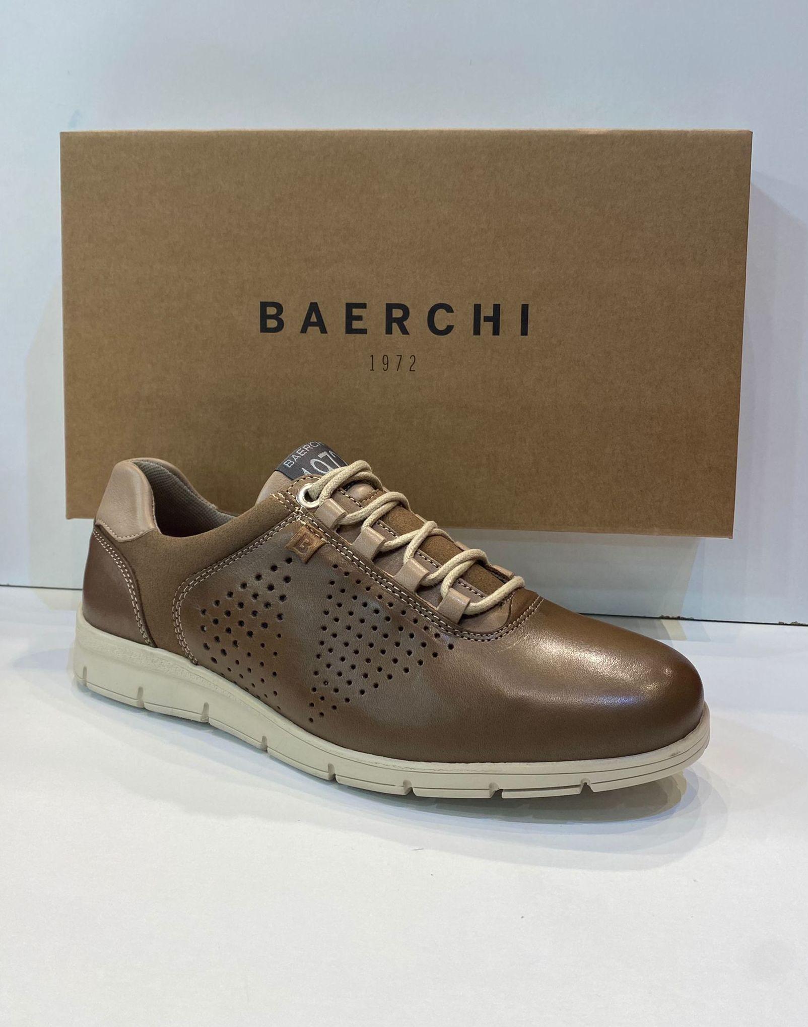 Blucher d'home, de la marca Baerchi, ample especial, sola de goma 64€