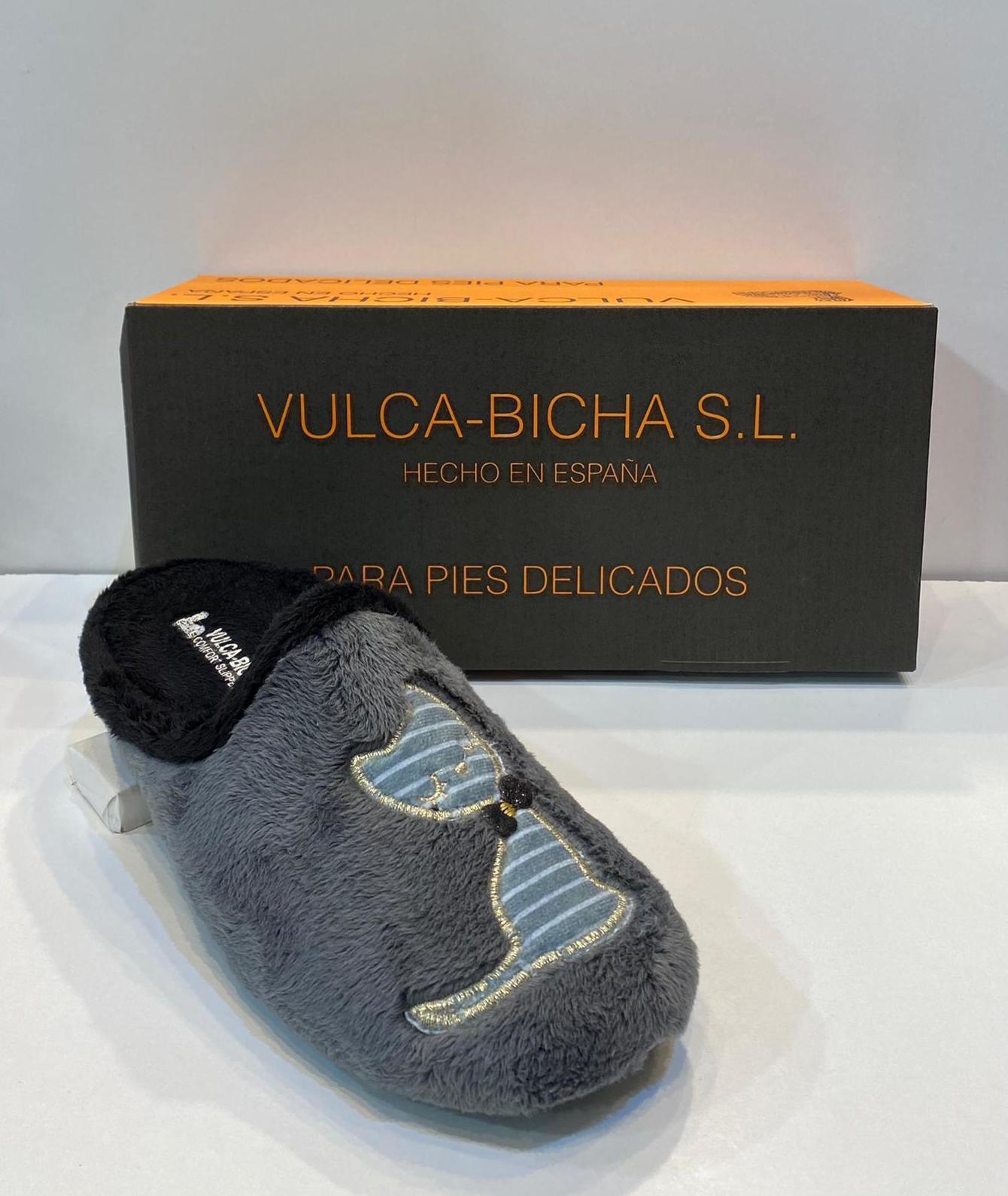 Espardenya de dona, de la marca Vulca-Bicha, amb plantilla extraible i sola de goma 21.50€