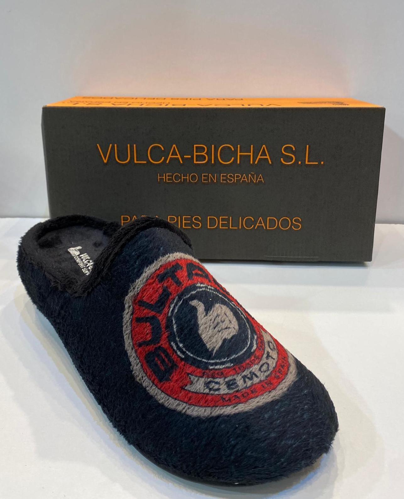 Espardenya d'home, de la marca Vulca-Bicha, amb plantilla extraible i sola de goma 21.50€