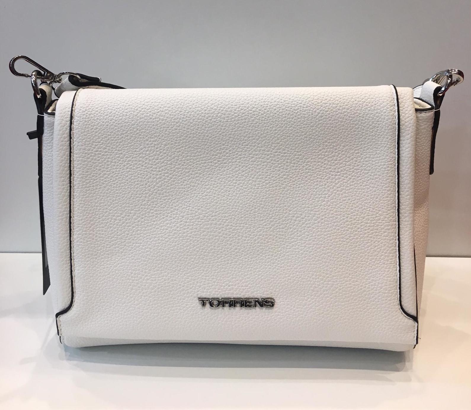 bolso blanco marca Torrens
