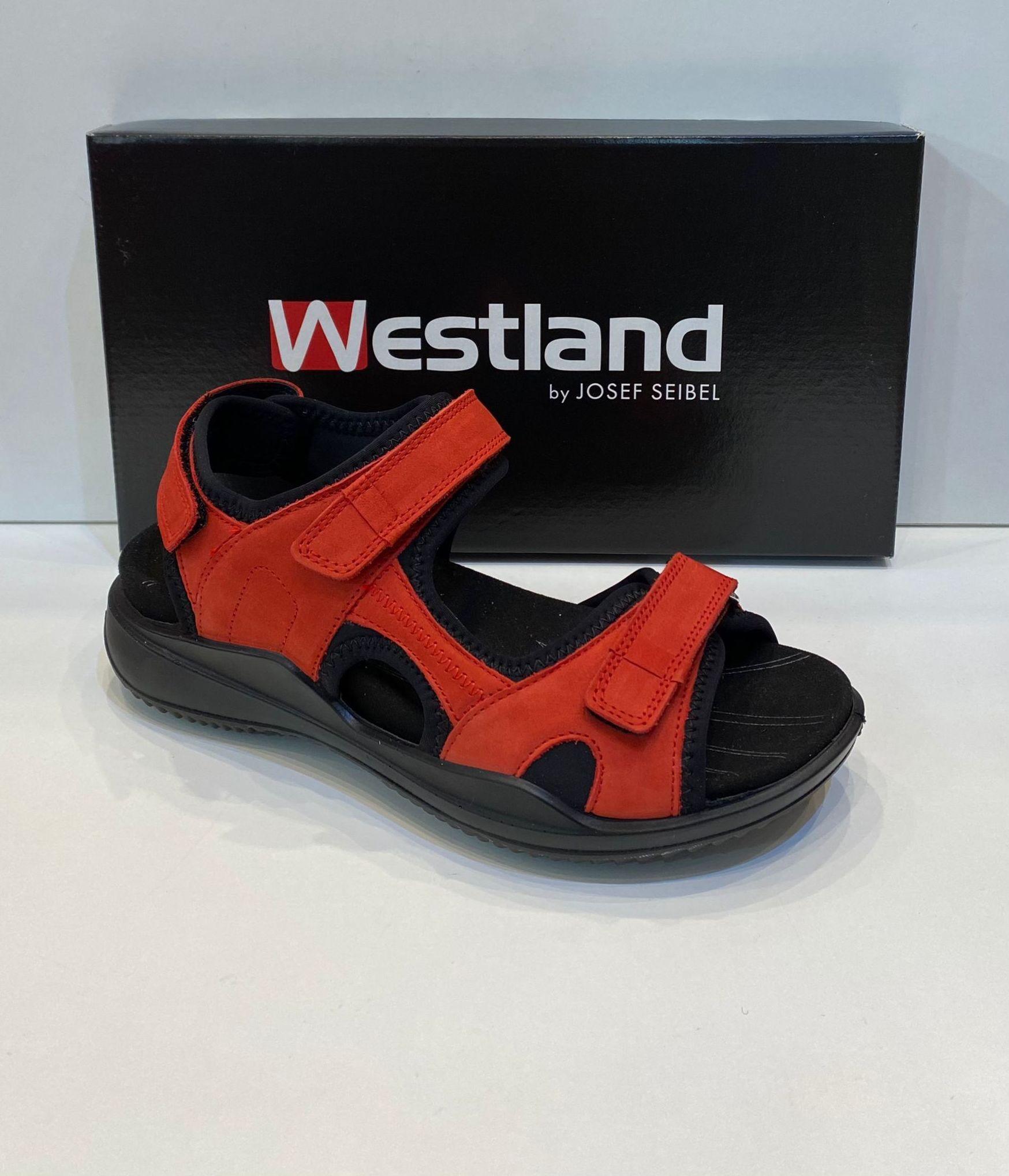 Sandàlia de dona, de la marca Westland, ample especial, adaptable a totes les amplades, plantilla de viscoelàstica extraible, adaptable a plantilles ortopèdiques 99.95€ www.calzadosllinas.es