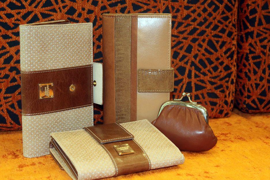 Bolsos y carteras de piel