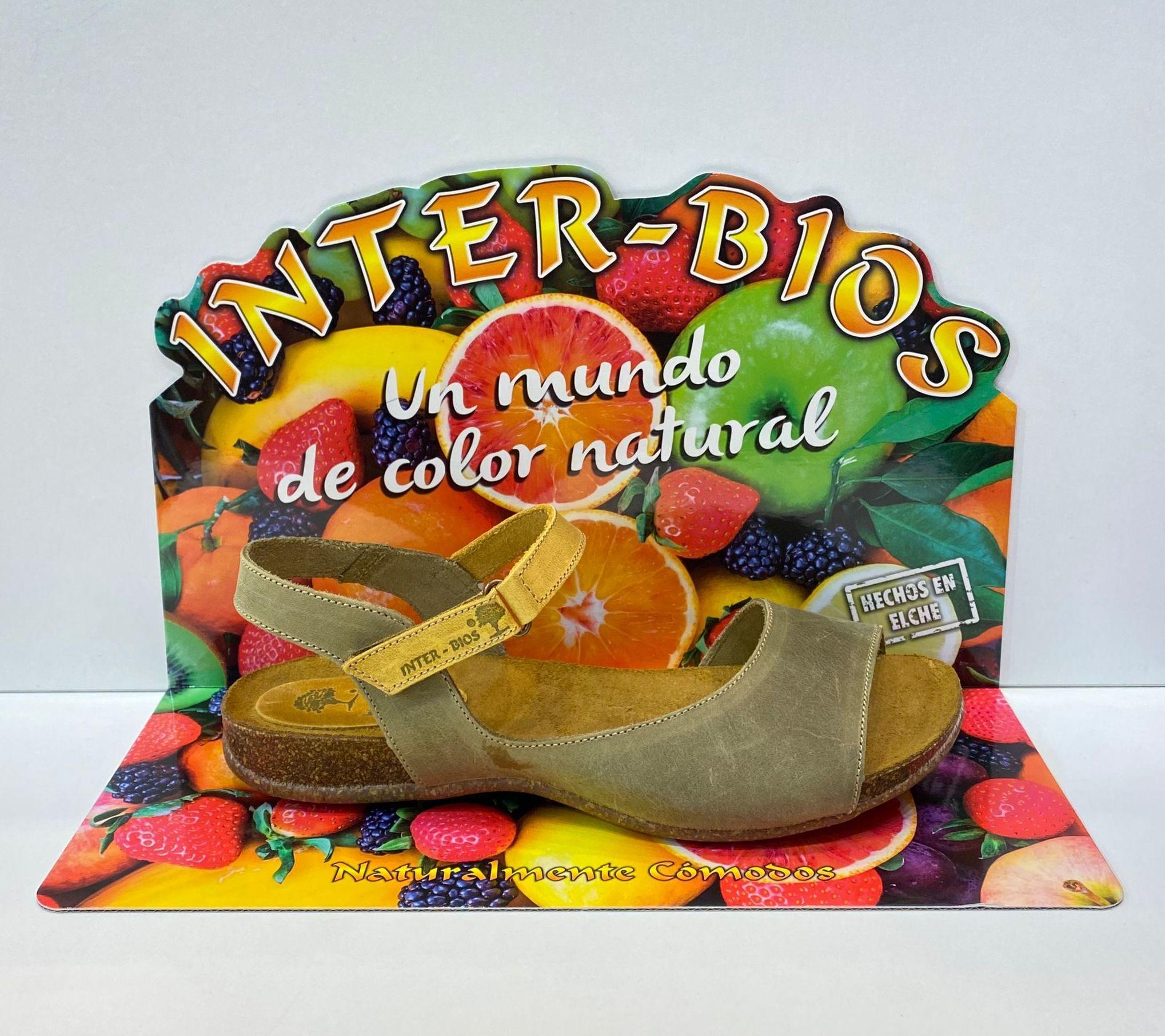 Sandàlia de dona, tipus bio, de la marca Inter-Bios, adaptable a totes les amplades, plantilla anatòmica encoixinada 50€ www.calzadosllinas.es