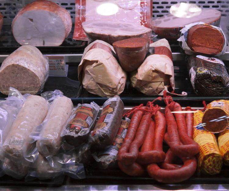 Distintas variedades de butifarra en Barcelona