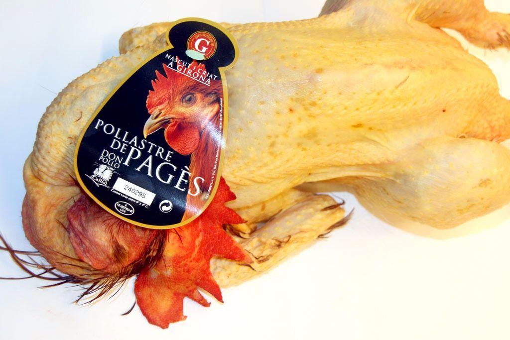 Pollastre de pages: Productos de Lucas Gourmet