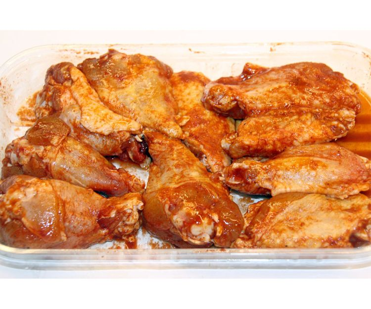 Venta de alitas de pollo en Barcelona