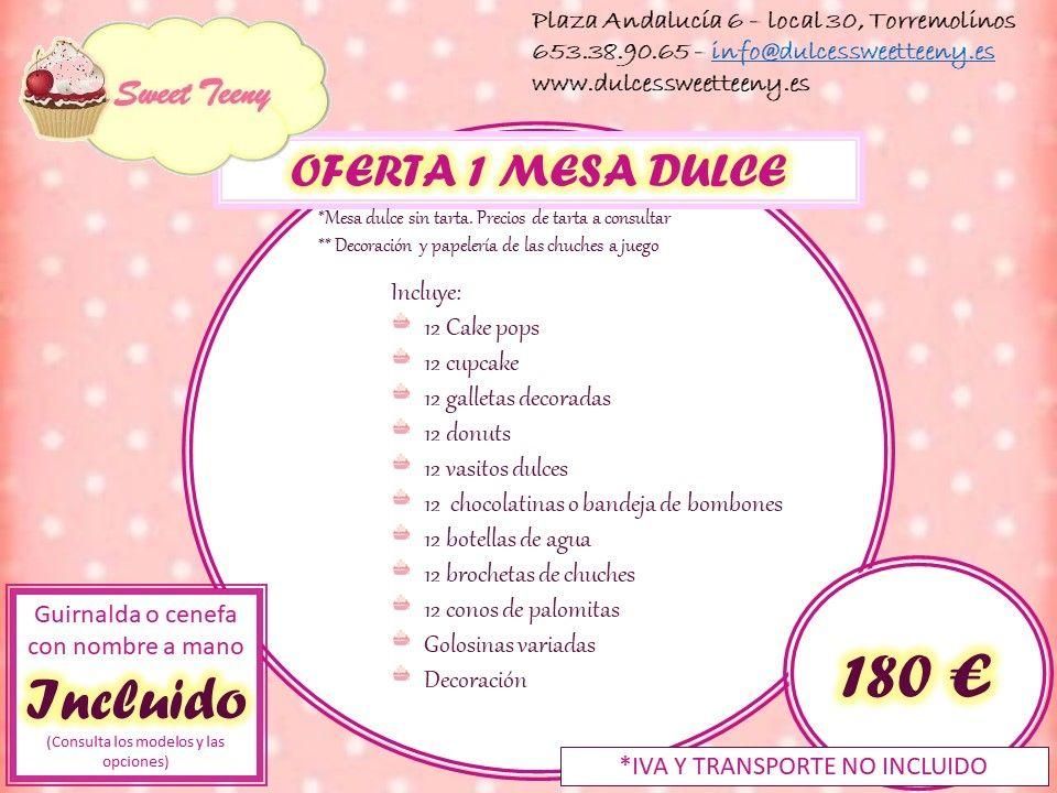 Foto 2 de Repostería creativa en Torremolinos | Sweet Teeny