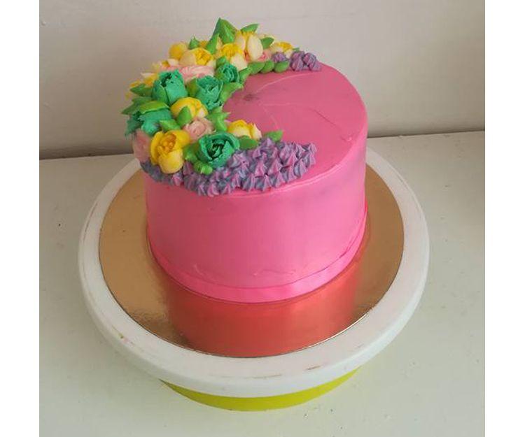Drip cake con sabores