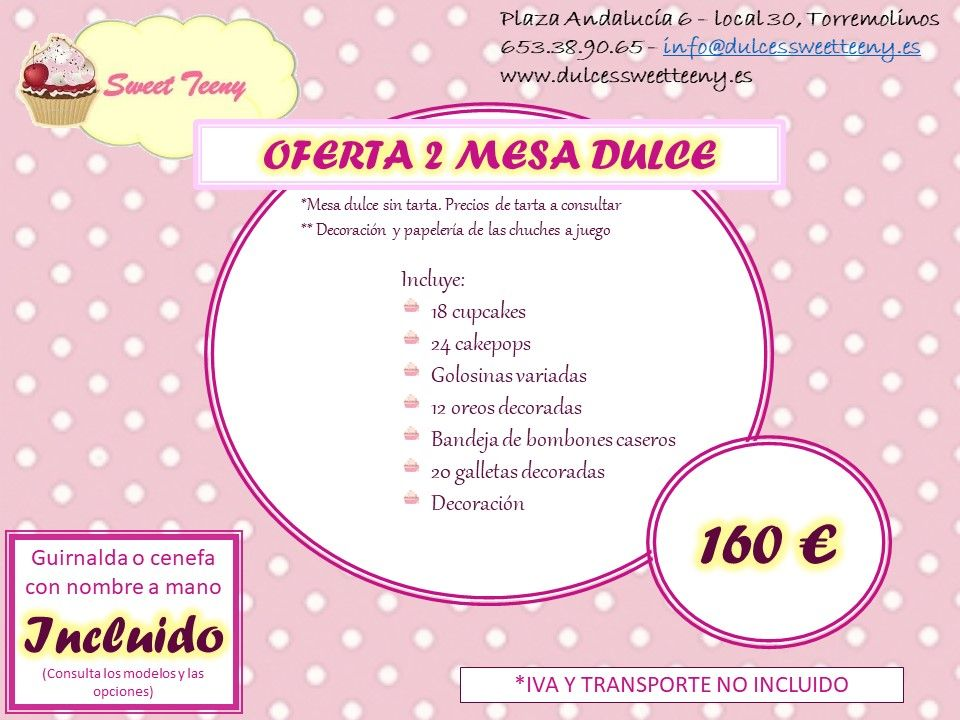 Foto 3 de Repostería creativa en Torremolinos | Sweet Teeny