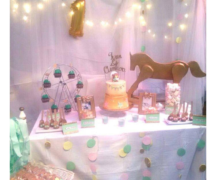 Tartas y mesas de dulces para cumpelaños