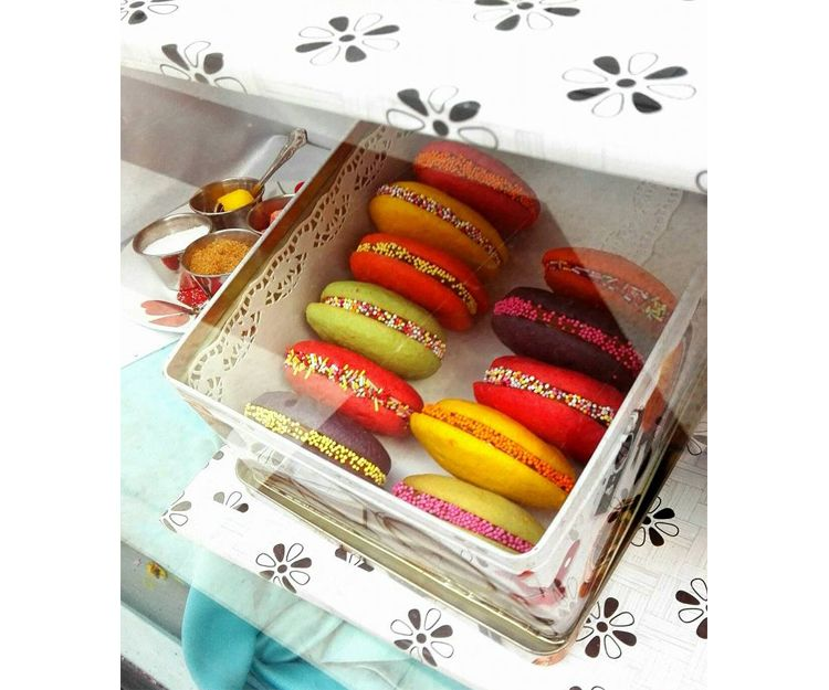 Exquisitos macarons
