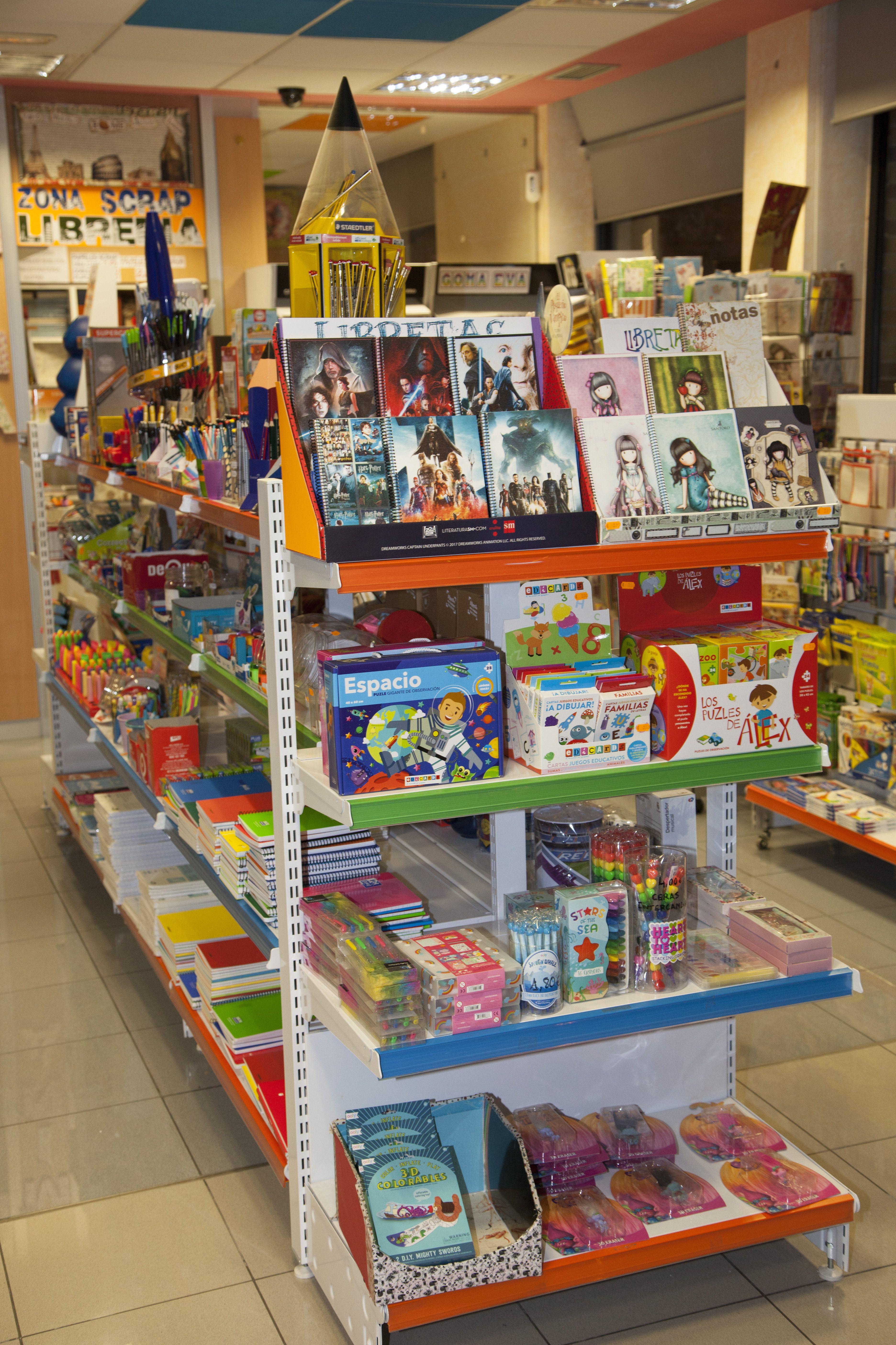 Artículos de dibujos animados: Productos de Papelería Librería Mina