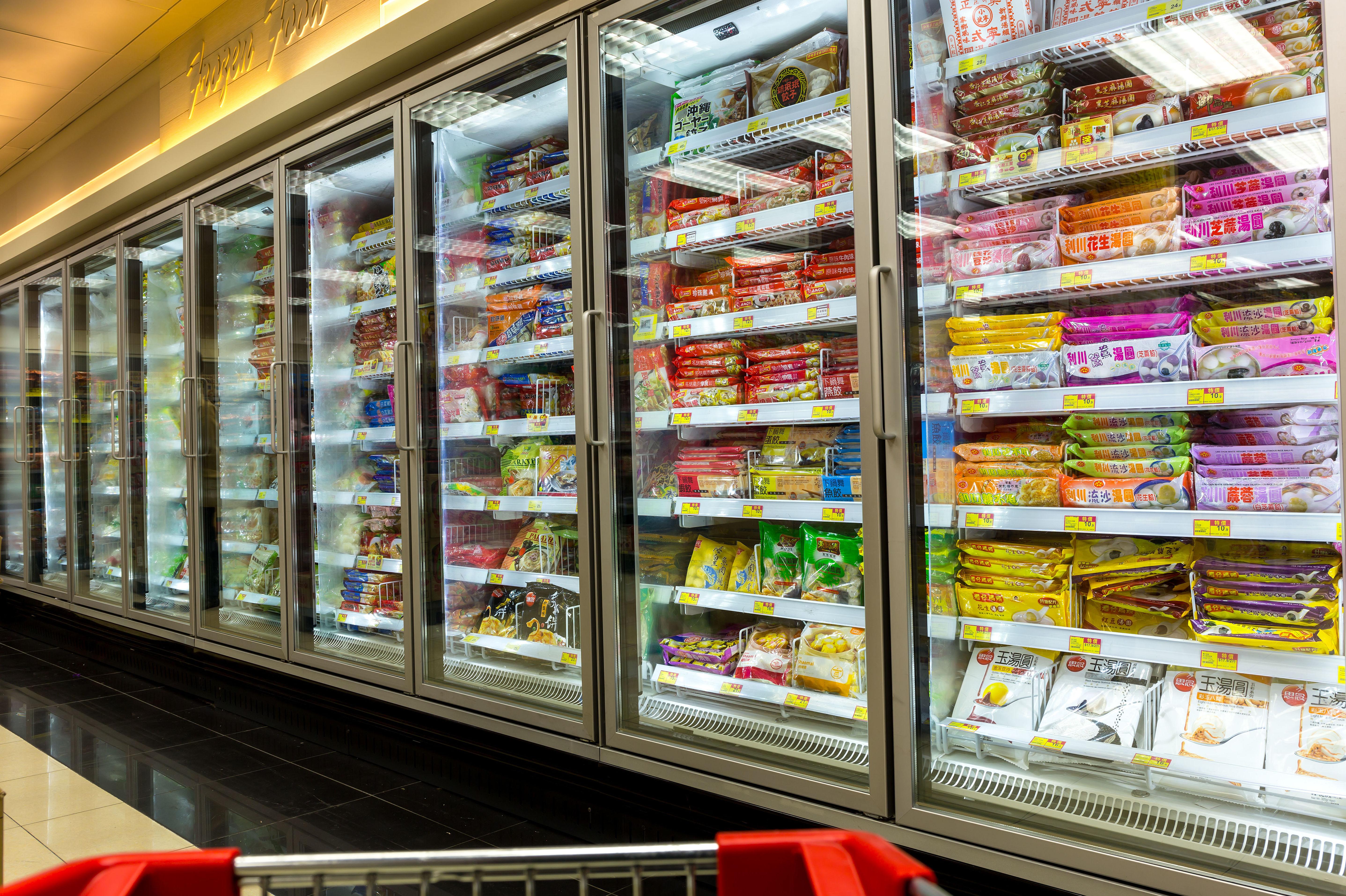 Cámaras de frío industrial para supermercados