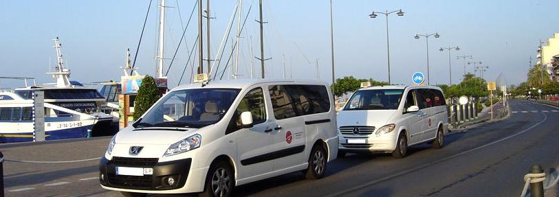 Taxis de 8 plazas