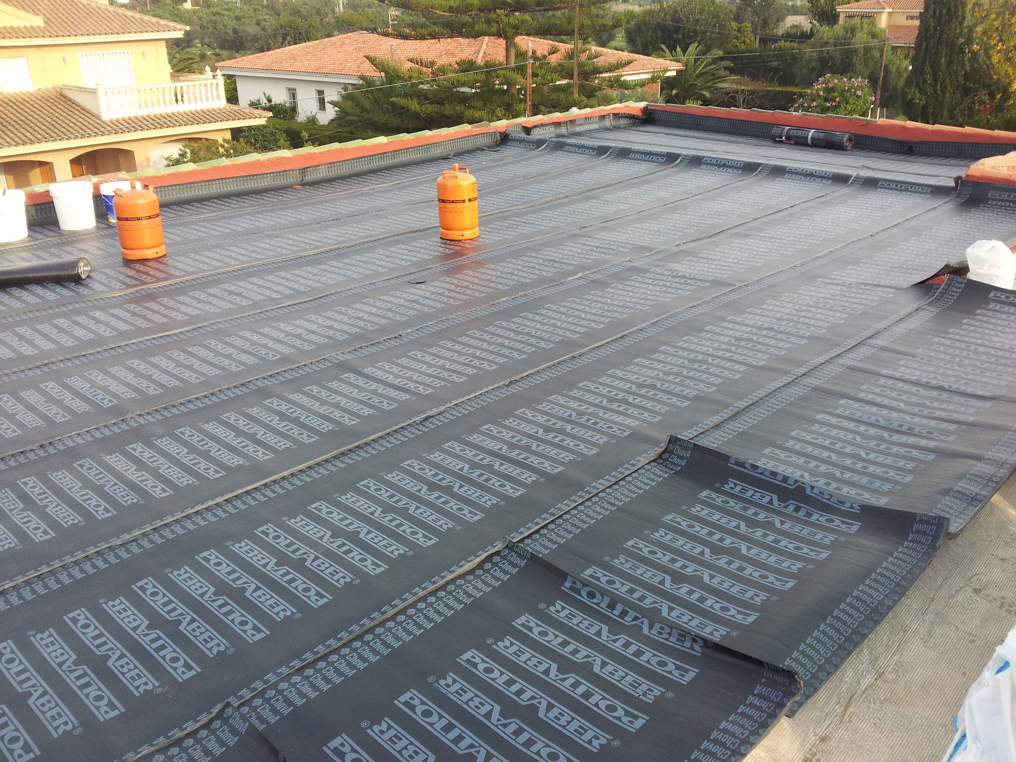 impermeabilizacion con lamina asfaltica sistema flotante