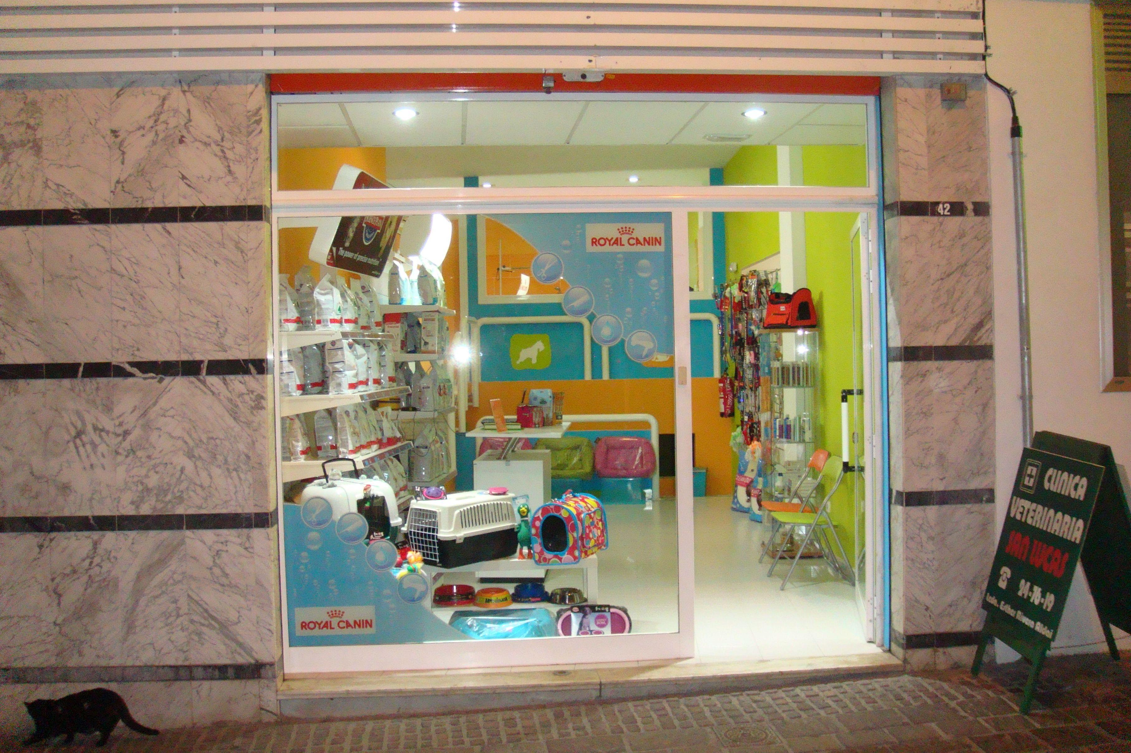 Tienda de alimentación para mascotas en Tenerife