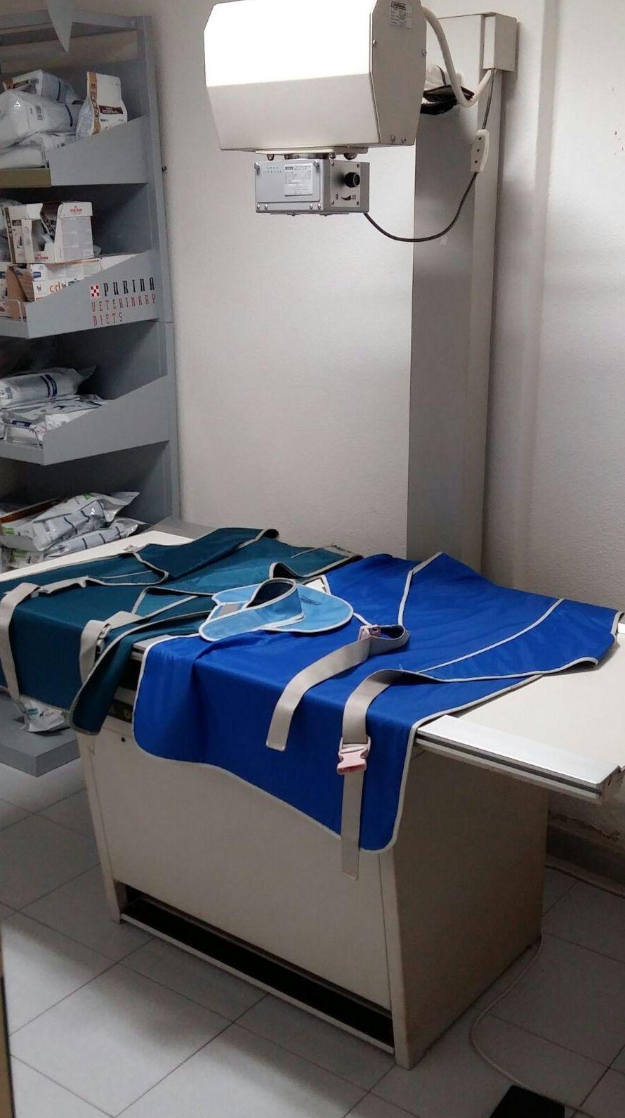 Equipo de radiología