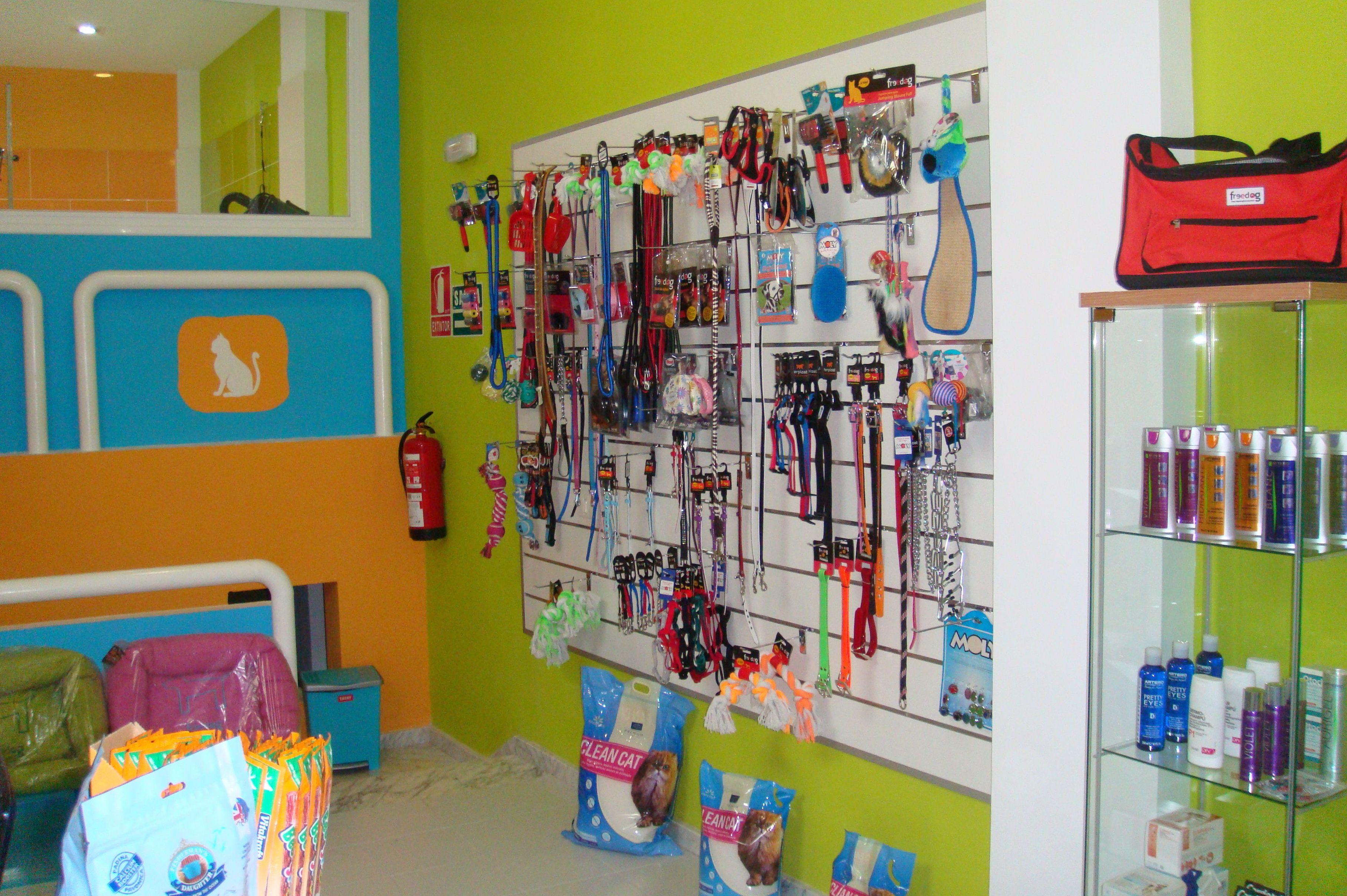 Tienda de accesorios para mascotas en Tenerife