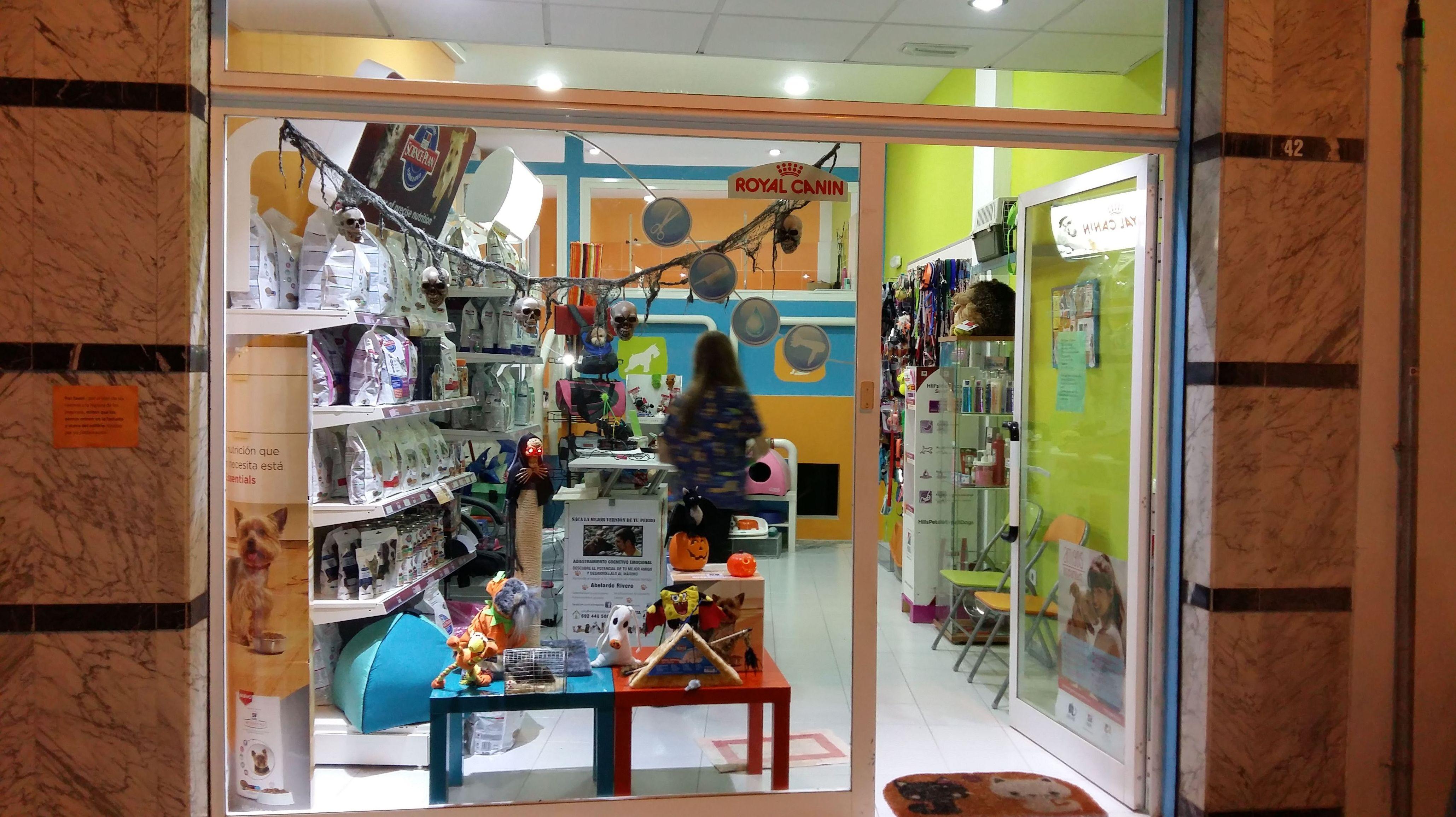 Tienda de mascotas en Tenerife