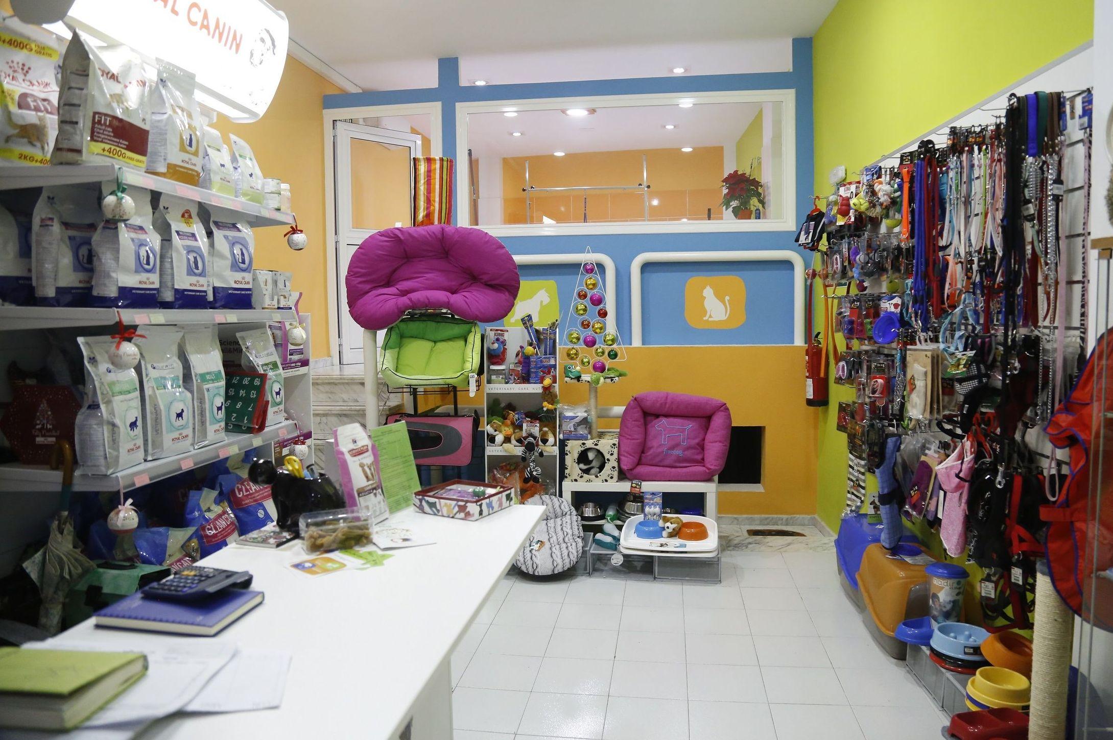Tienda de accesorios y alimentación para mascotas en Tenerife