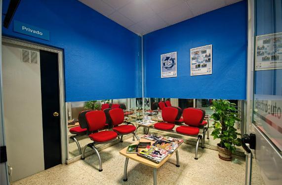 Sala espera Electroauto - Bosch Service