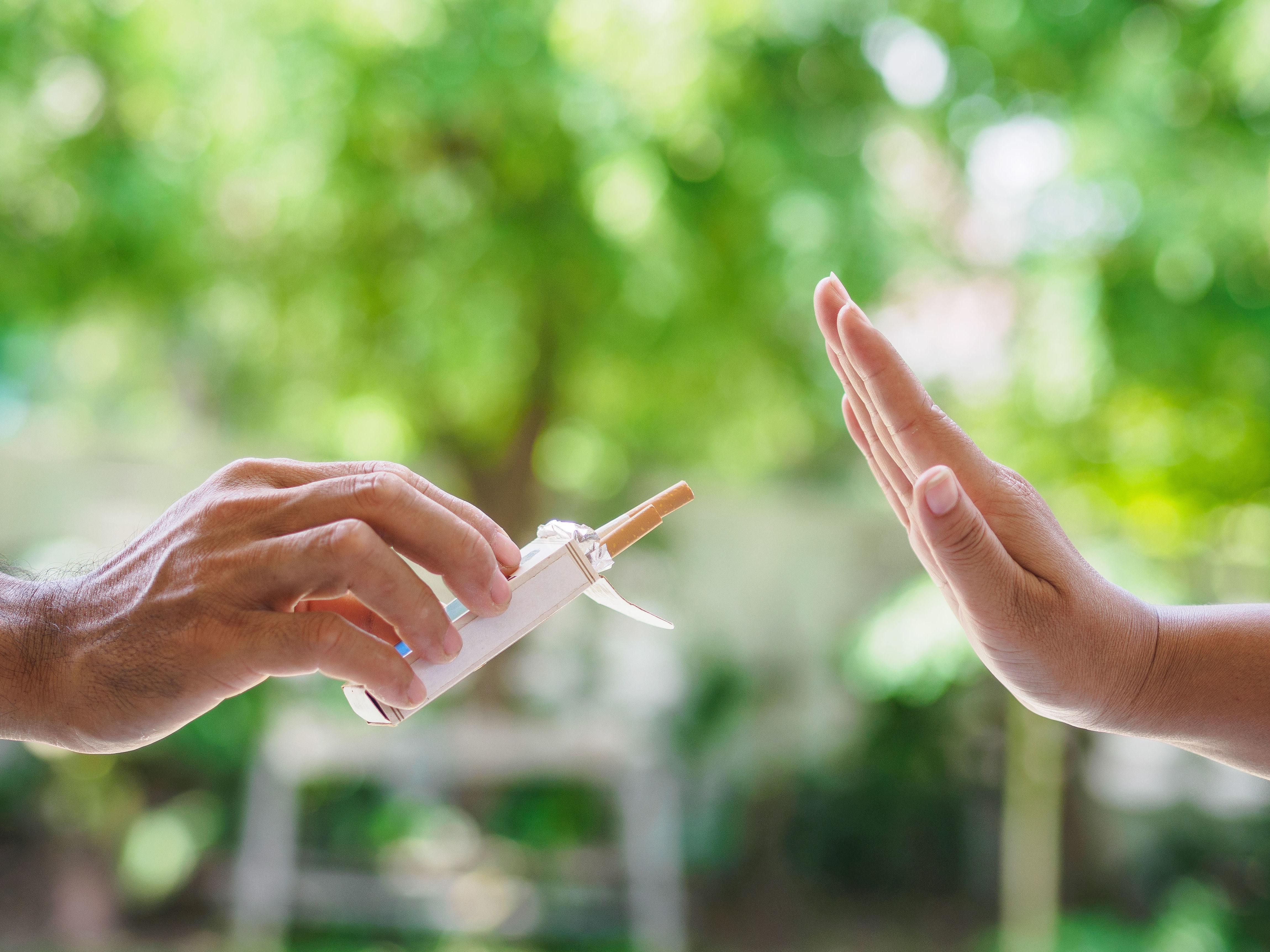 Tapping para dejar de fumar