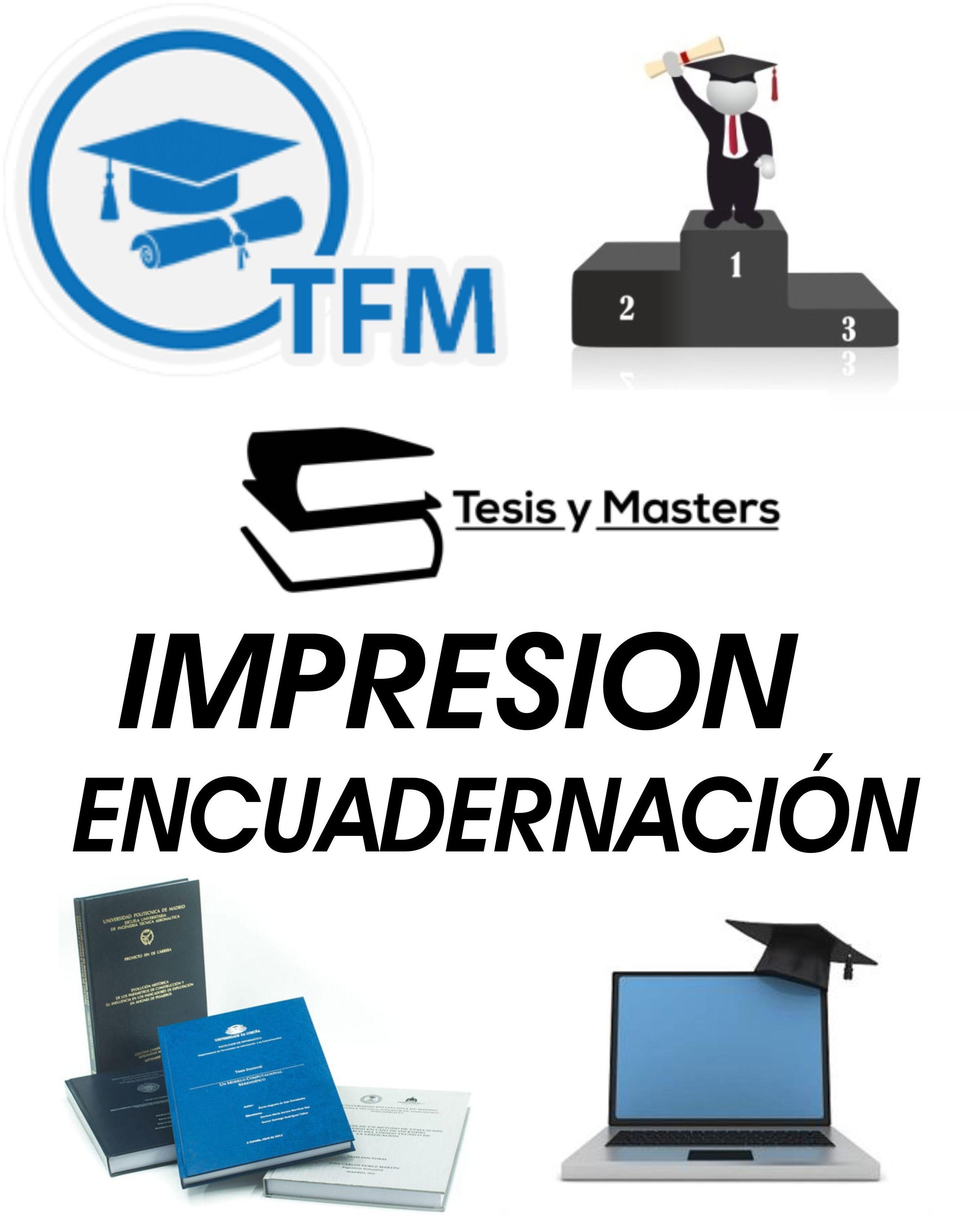 FINAL DE CURSO  -  TFM - PROYECTO FIN DE CURSO - TRABAJOS FNALES - TESIS...