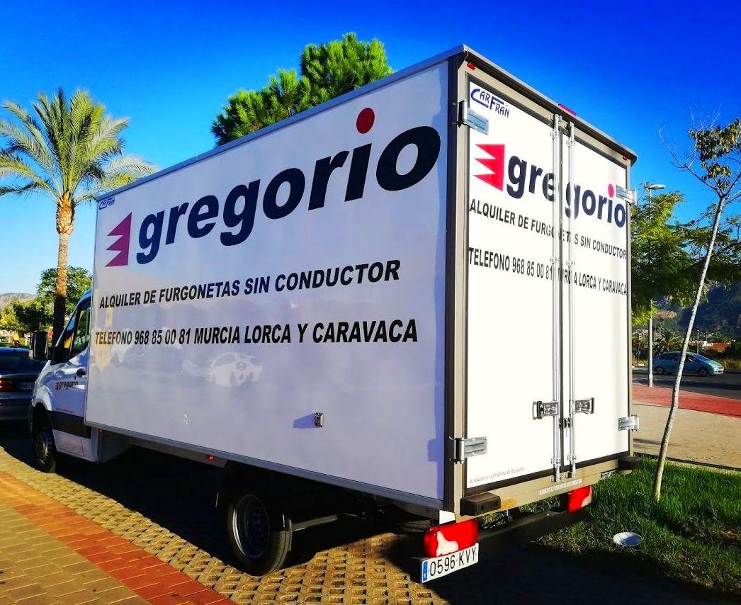 Alquilar camión en Murcia
