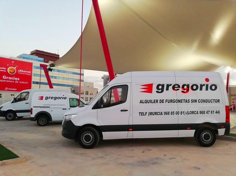 Alquiler Furgonetas en Murcia
