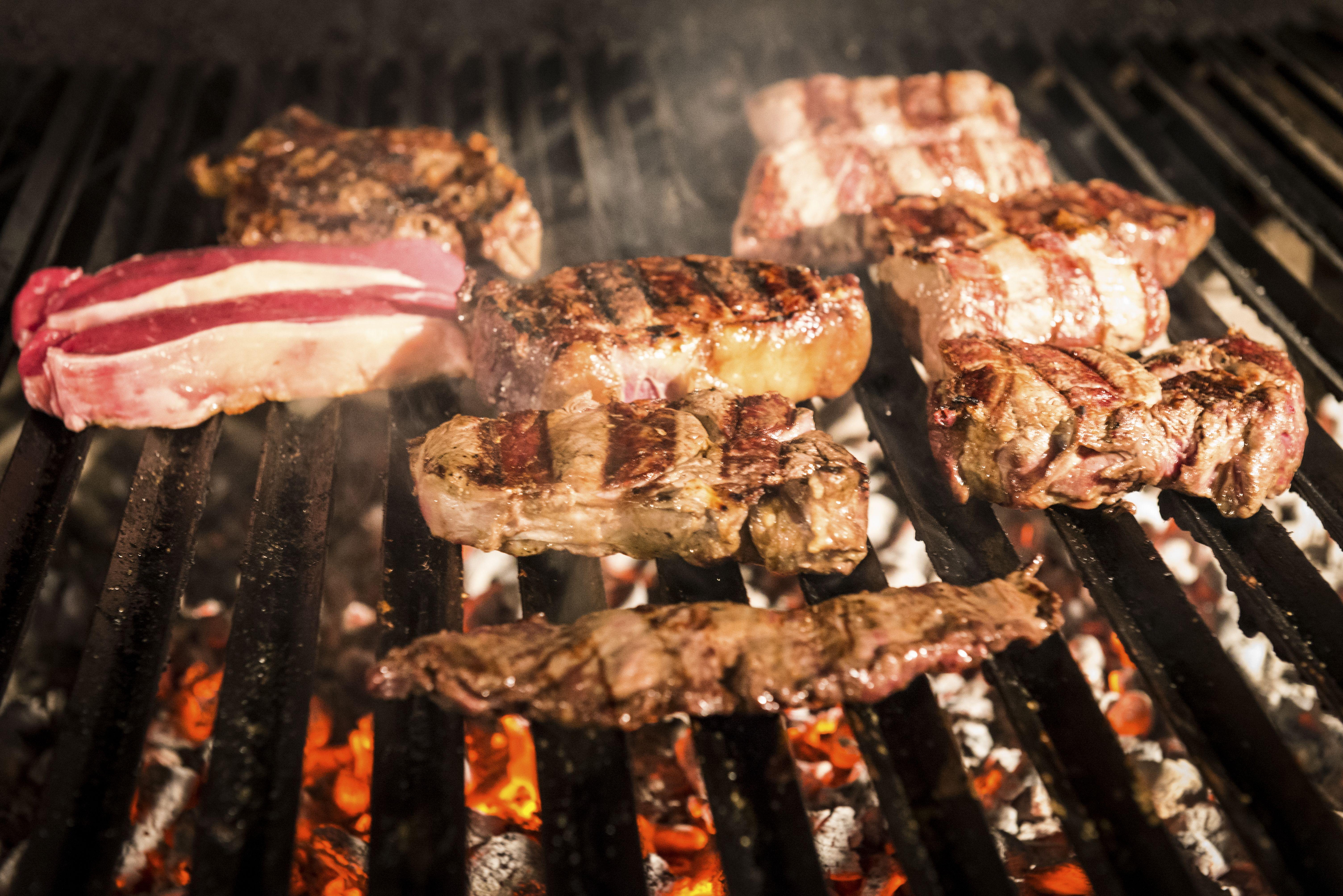 Parrilla de carne en Torrejón de la Calzada