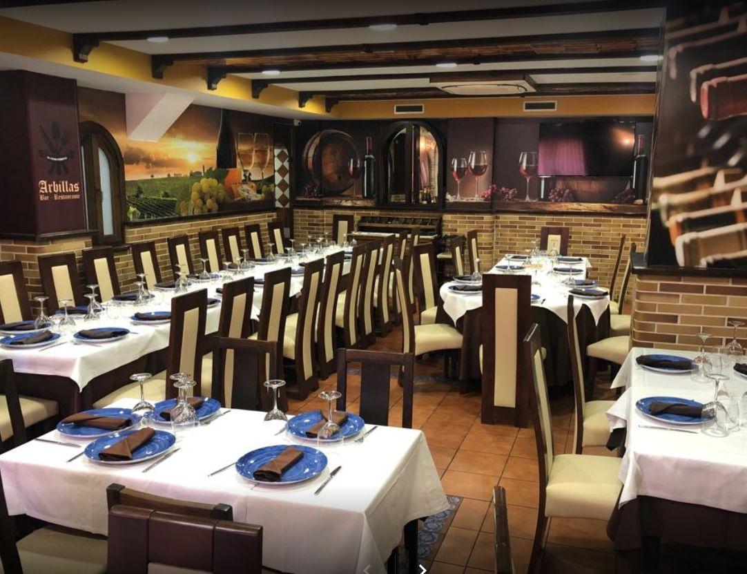 Restaurante para eventos en Torrejón de la Calzada