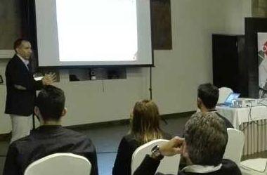 Pedro Fernández durante su intervención en las Jornadas de la digitalización