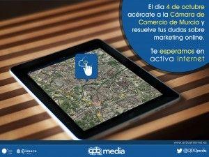 Un nuevo evento de Activa Internet tendrá lugar en Murcia