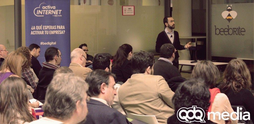 """""""Captación de clientes en la Red"""" Enrique Burgos en Activa Internet en garAJE."""