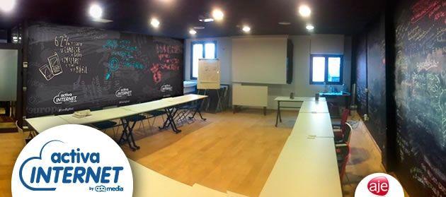 Segundo taller de Activa Internet en el garAJE