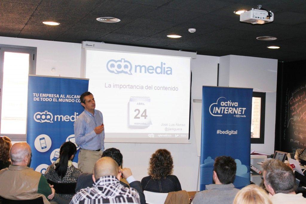 """""""La importancia del contenido"""" José Luis Alonso en Activa Internet garAJE"""