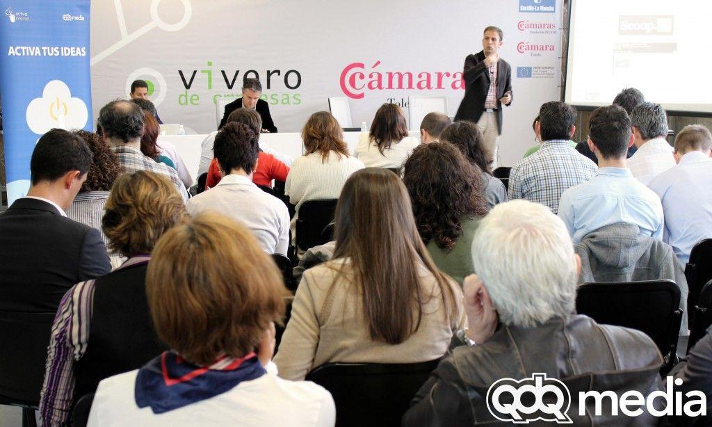 """""""Utiliza Internet y redes sociales para ser productivo"""" Manuel Laborda en Activa Internet Toledo"""